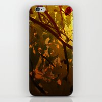 camus iPhone & iPod Skins featuring Camus by Cisma