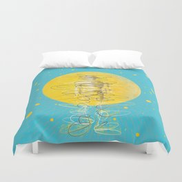 Teleportation - A Better Way to Travel Duvet Cover