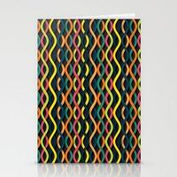 dna Stationery Cards featuring DNA by Shkvarok
