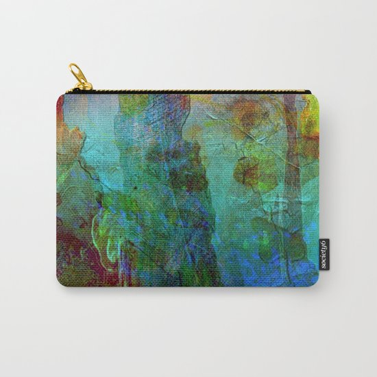 Abstract Texture 05 Carry-All Pouch