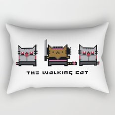 The Walking Cat - Meowchonne Rectangular Pillow