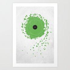 Subtraction Art Print