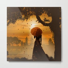 Romantic light Metal Print