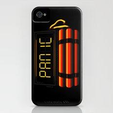 PANIC iPhone (4, 4s) Slim Case