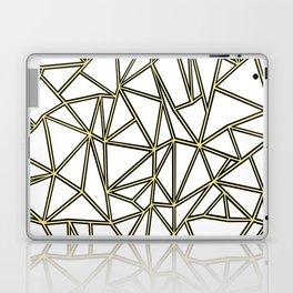 Ab Blocks White Gold Laptop & iPad Skin