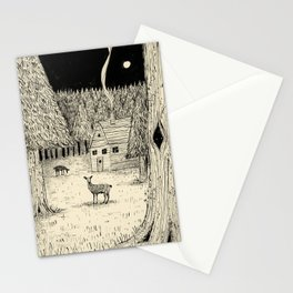 'In The Clearing' Stationery Cards