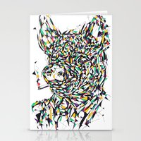 smoking Stationery Cards featuring Smoking by mary wong ting fung