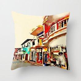 Antique San Cristobal  Throw Pillow