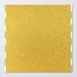 Gold Graphic Canvas Print