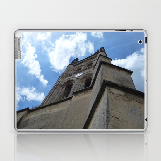 Saint Emilion spire Laptop & iPad Skin