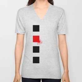 Don't Lose Control (Square) Unisex V-Neck