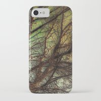 psychadelic iPhone & iPod Cases featuring Psychadelic Tree by Jeanne Hollington