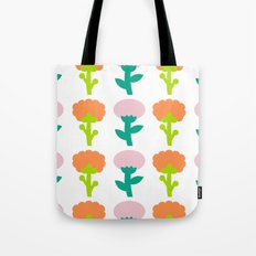 Retro Flower Tote Bag