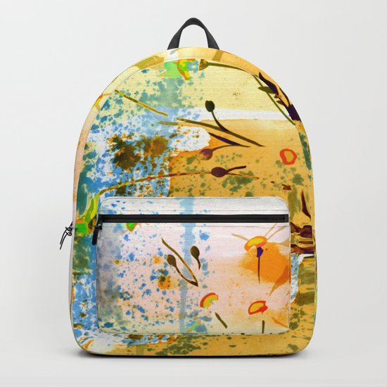 flowers at the beach Backpack