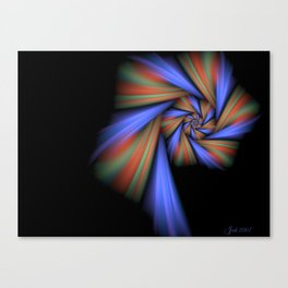 Spiral Loner Canvas Print