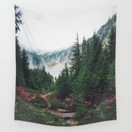 Mountain Trails Wall Tapestry
