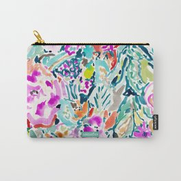 GARDEN GRAVY FLORAL Carry-All Pouch