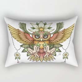 Sun Owl Rectangular Pillow