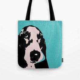 Basset hound art print  Tote Bag