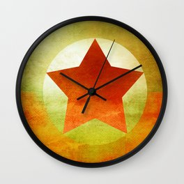 Star Composition VI Wall Clock