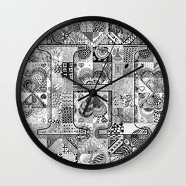 The Letter H Wall Clock