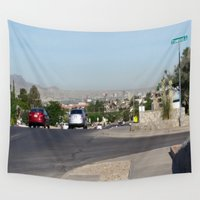 western Wall Tapestries featuring Western City by GregoryH