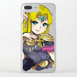 Zelda from Super Smash Bros Ultimate Clear iPhone Case