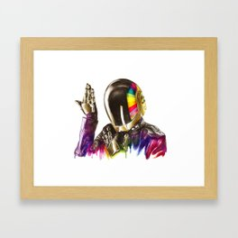 Daft punk Guy-Manuel de Homem-Christo Framed Art Print