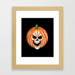 The Pumpkin King! Framed Art Print