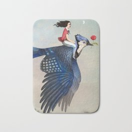 Time to Fly Bath Mat
