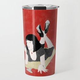 Pulp Fiction - Watercolor Travel Mug