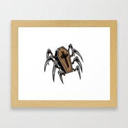 Creeping Death Framed Art Print