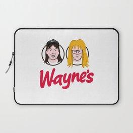 Wayne's Double Laptop Sleeve