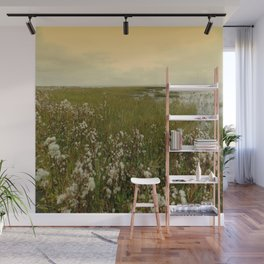 Country by the sea Wall Mural
