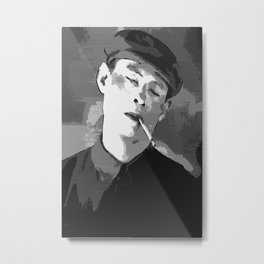 The Smoker Metal Print