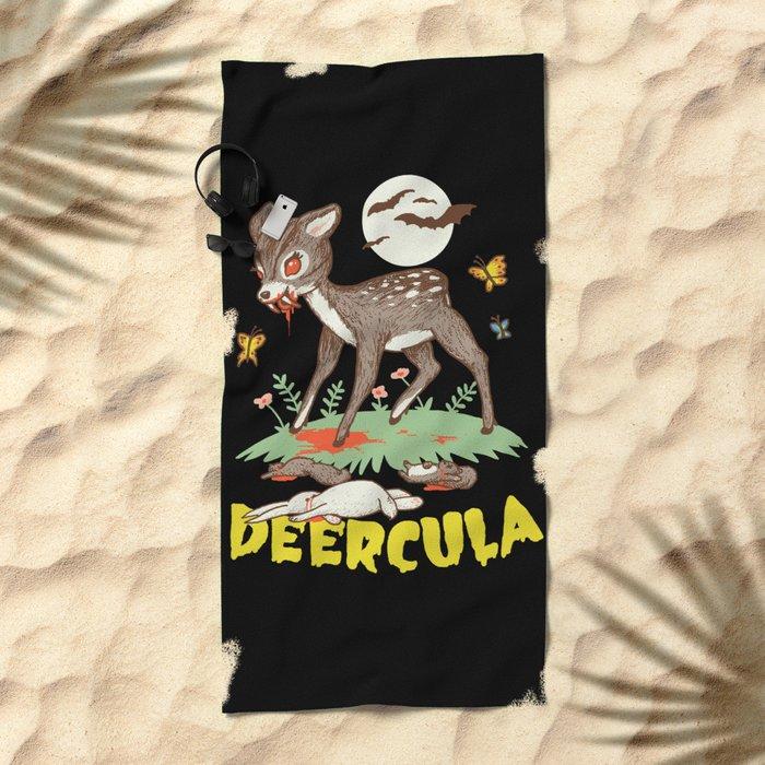Deercula Beach Towel