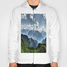 Mountain Peaks in Austria Hoody