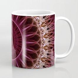 Ruby Mandala Coffee Mug