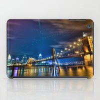 cincinnati iPad Cases featuring Cincinnati Skyline by Dylan Thomas