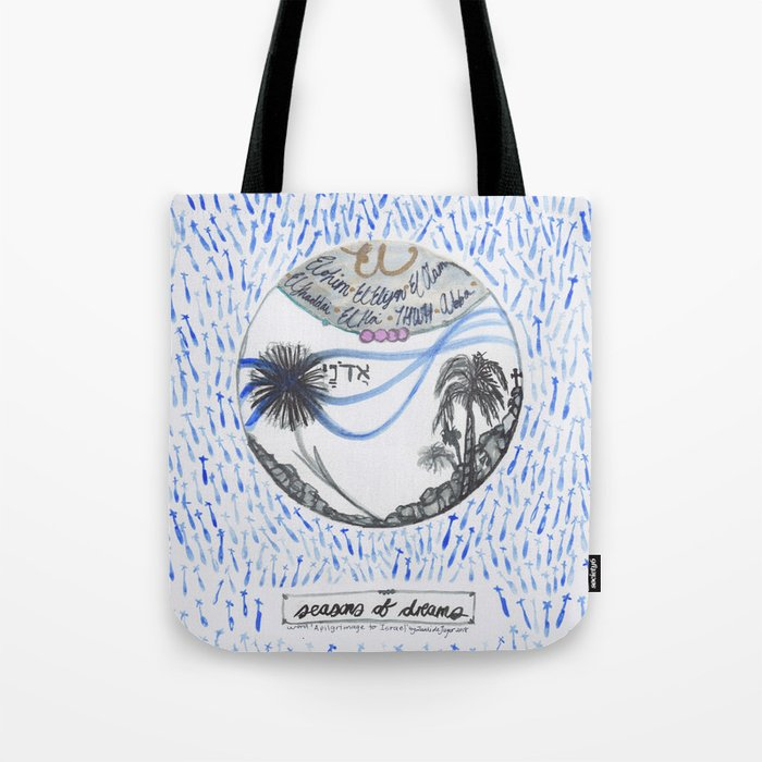 A pilgrimage to Israel Tote Bag