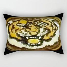 LSU Tiger Rectangular Pillow