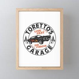 Fast & Furious - Toretto's Garage Framed Mini Art Print