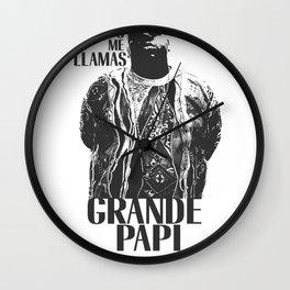 Grande Papi, Made in BK Wall Clock
