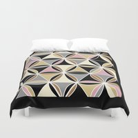 quilt Duvet Covers featuring quilt 2015 by Ariadne