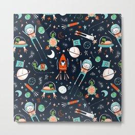 Space Race Metal Print