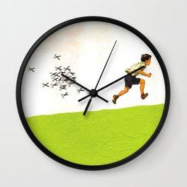 The Swarm Wall Clock