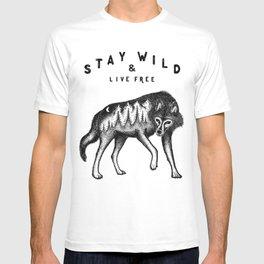 STAY WILD & LIVE FREE T-shirt
