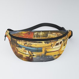 Motif Number 1 , Bearskin Neck, Rockport MA Fanny Pack