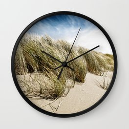 Sea and Sand, Kellogg Beach, Crescent City, California. Wall Clock