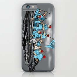 Team Zissou Crossing the Delaware iPhone Case